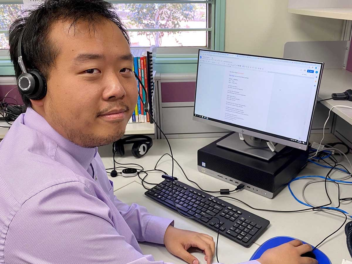 Dubbo School of Distance Education teacher, Frank Xia's dedication to adapting learning to suit his students paid dividends with them gaining the first three places in HSC German Beginners.