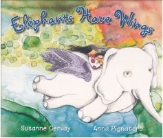 Book cover of Elephants have wings