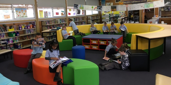 Library flexible spaces