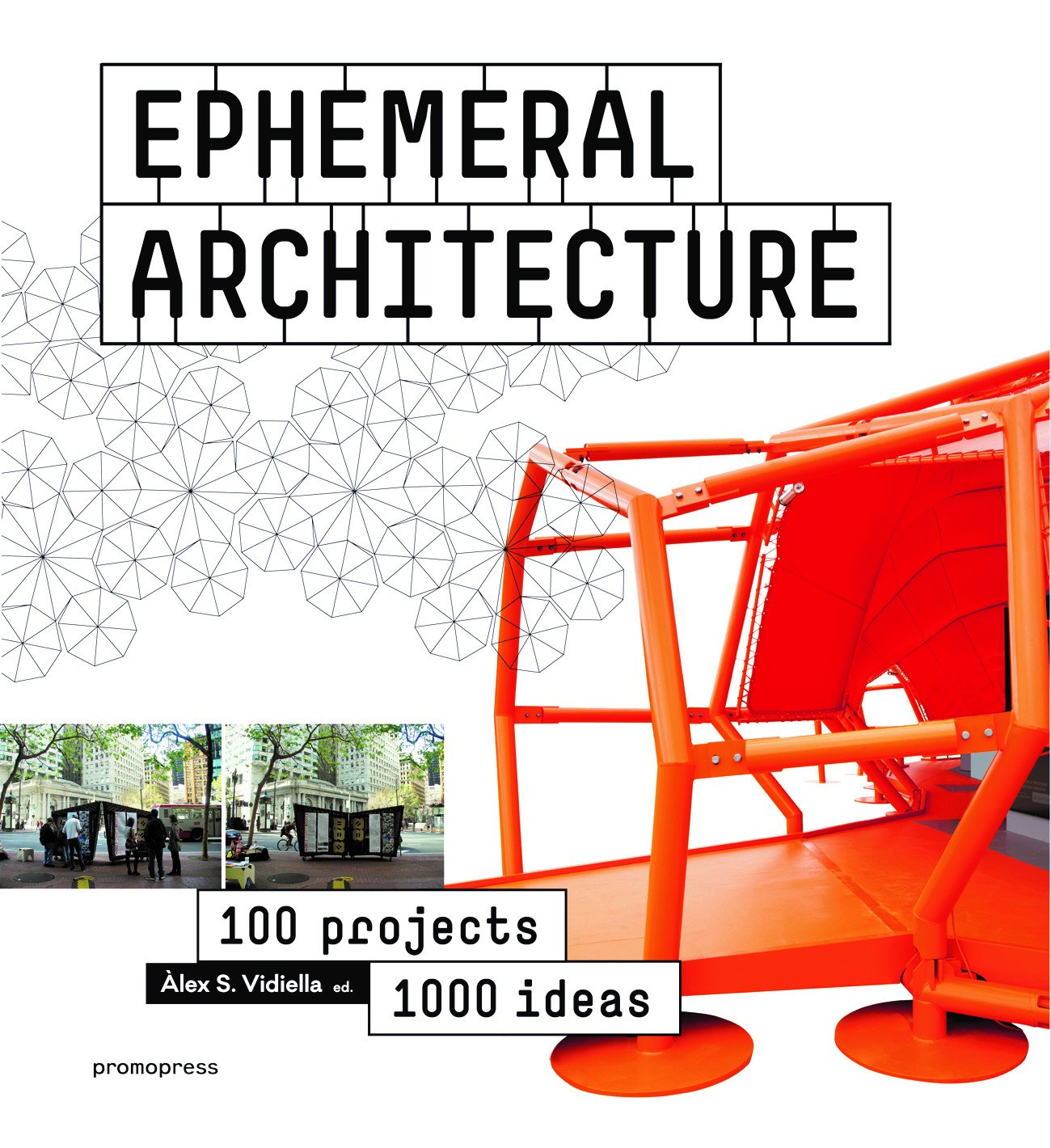 Book cover of Ephemeral Architecture