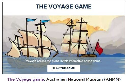 An image of the voyage game