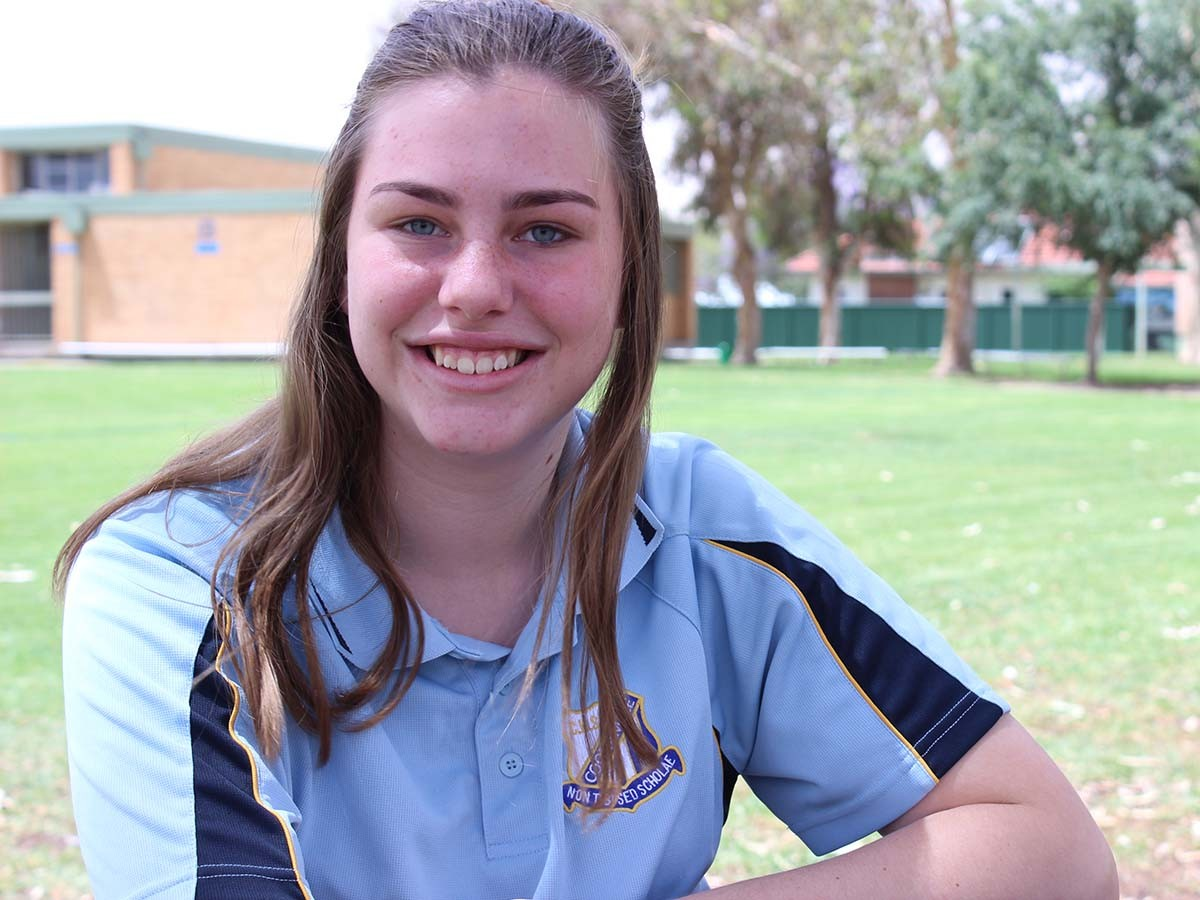 Maddy Jerrett is taking diverse pathways through high school.