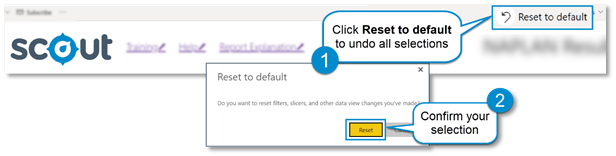 Reset to default function