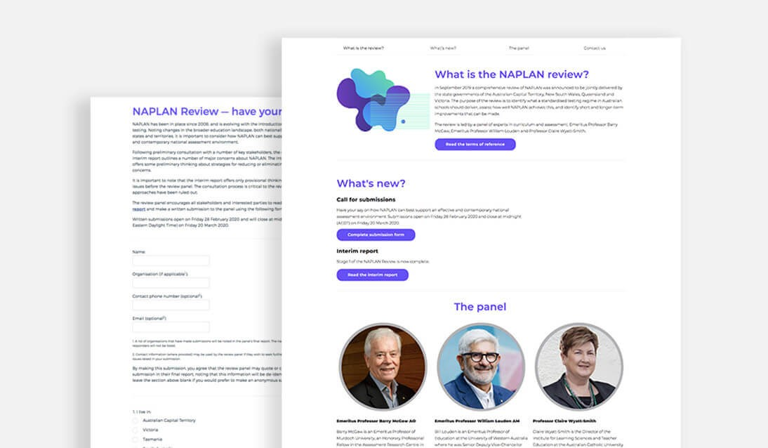 The NAPLAN Review website.