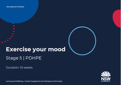 Exercise your mood title page