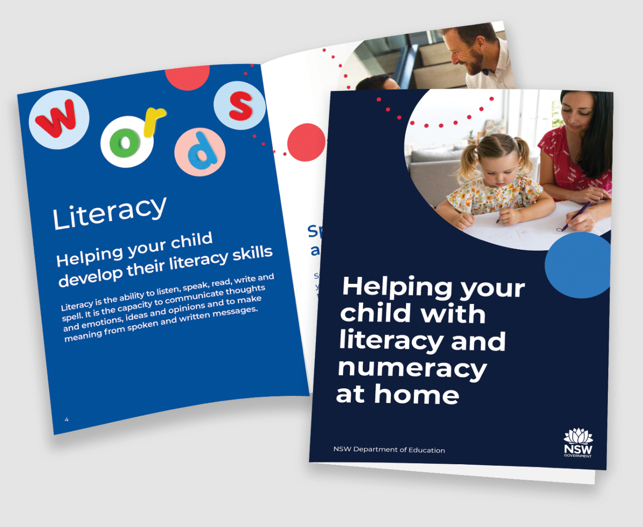 Helping your child with literacy and numeracy at home book cover