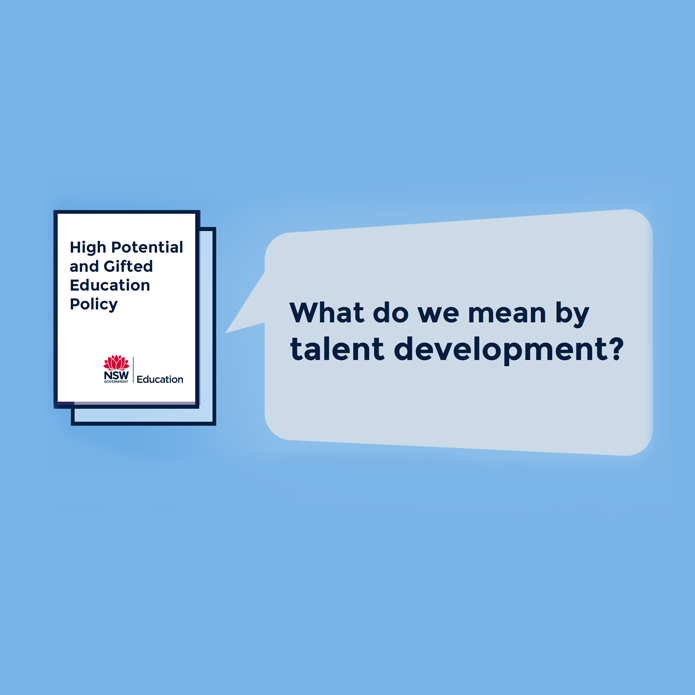 What do we mean by talent developmen? Watch a video explainer.