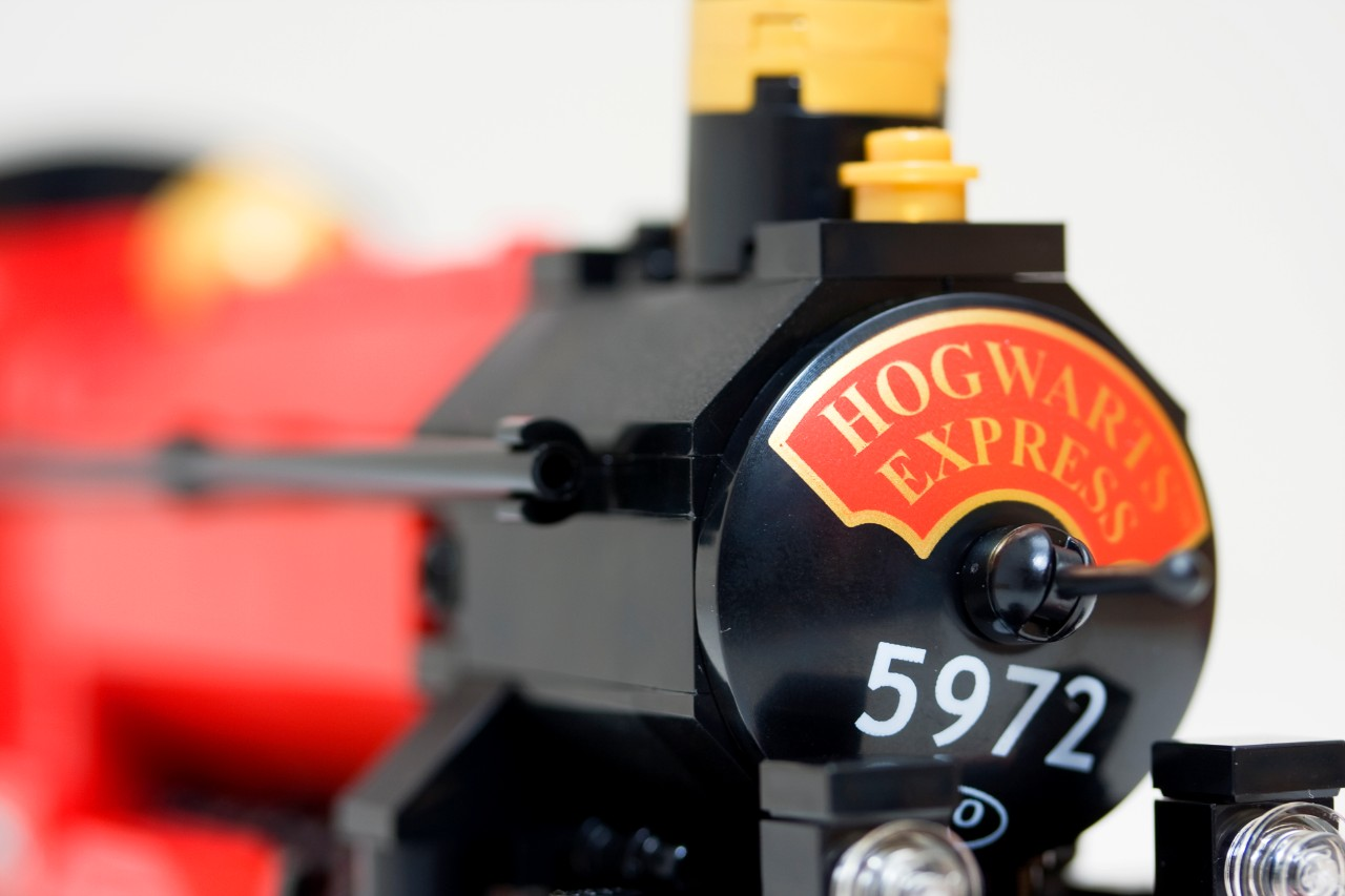 harry potter toy train