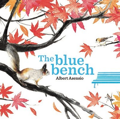 Book cover of The Blue Bench by Albert Asensio